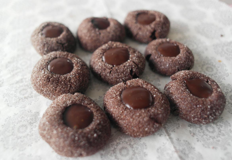 Biscotti Di Natale Umbria.Biscotti Di Natale Biscotti Con Ganache Al Cioccolato E Sale